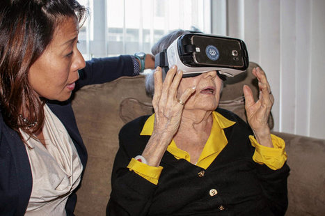 Virtual Reality Aimed At The Elderly Finds New Fans | Augmented, Alternate and Virtual Realities in Higher Education | Scoop.it