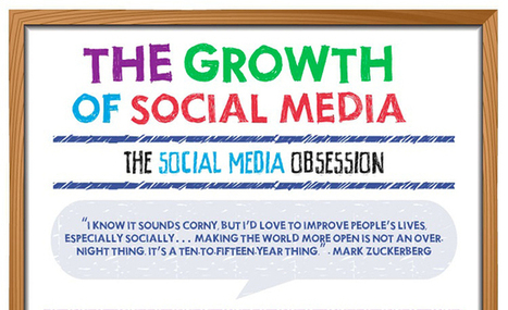 The Growth of Social Media in 2014: 40+ Surprising Stats [infographic] | SociallyStacked | SocialMoMojo Web | Scoop.it