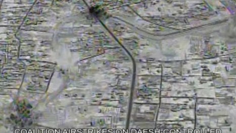 US-led air strikes hit Isis targets in Raqqa - video | Saif al Islam | Scoop.it