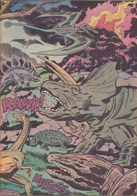 "Devil Dinosaur 1 / page 3 | Jack ""King"" Kirby | Scoop.it"