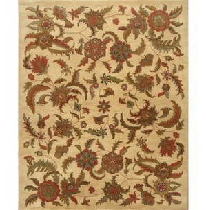 Rugsville Transitional A8 Ivory Wool Rug 11802 - TRANSITIONAL | Discount Area Rugs | Scoop.it