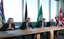 Pacific Coast Leaders Sign Historic Climate Action Plan | Conservation + BioEconomy | Scoop.it