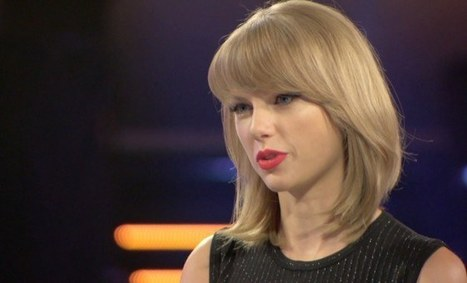 Taylor Swift : How She Knew Spotify Was Trouble   A Rich Selection Of The Latest News www.canbeweird.com   Scoop.it