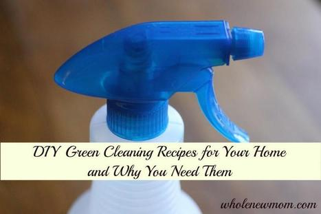Detoxify Your Home with these DIY Natural Green Cleaners!<br/><br/>http://wholenewmom....   Homemade Household Cleaners   Scoop.it