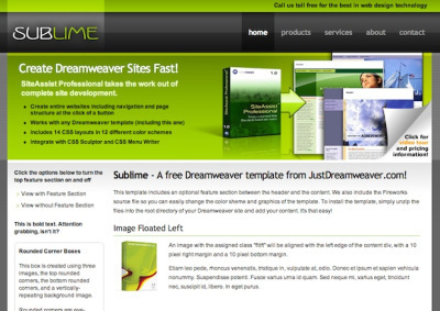 20 Plantillas Dreamweaver gratis para Descargar | rfc1 | Scoop.it
