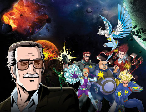 Stan Lee's 'Cosmic Crusaders' Comes To Life In Virtual Reality | GENIUS BRANDS PROPERTY NEWS | Scoop.it