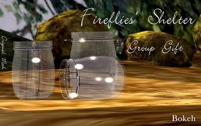 Fireflies Shelter Group Gift - NessMarket | 亗 Second Life Freebies Addiction & More 亗 | Scoop.it