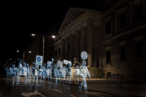 First Hologram Protest in History Held Against Spain's Gag Law | Family Life In Spain | Scoop.it