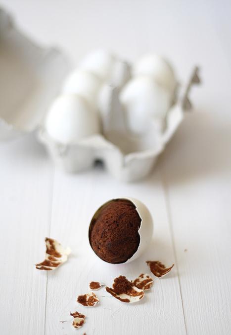 Brownie en cascara de huevo? | MLKtoSCL | Scoop.it