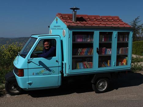 Professor aposentado incentiva o amor pela leitura através de uma biblioteca sobre rodas | Litteris | Scoop.it