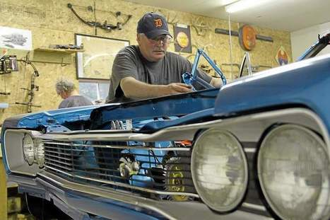 For the love of cars: Mt. Pleasant man turns passion into hobby - The Morning Sun | MGB restoration | Scoop.it