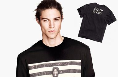 H&M présente les t-shirts A$AP Rocky | Rap , RNB , culture urbaine et buzz | Scoop.it