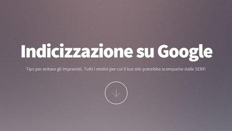 Indicizzazione su Google: 6 Cose da Sapere per Evitare Imprevisti | Stellissimo SEO | Scoop.it