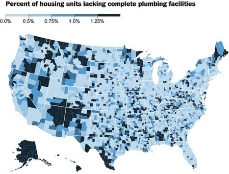 1.6 million Americans don't have indoor plumbing. Here's where they live | educational implications | Scoop.it
