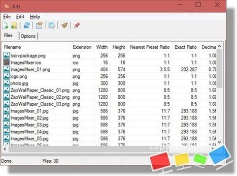 [Logiciel] Afficher les informations de ratio des images d'un dossier complet avec Arti | zapwallpaper | Scoop.it