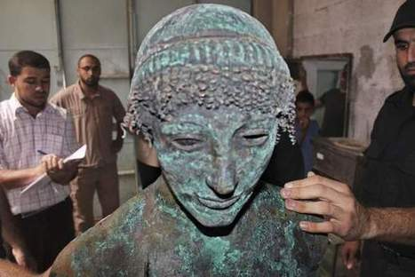 Mystery surrounds ancient Apollo statue found by Gaza fisherman - The National | Ancient History | Scoop.it