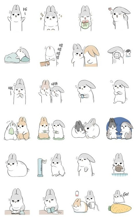 """Kawaii Machiko Rabbit - บริการรับฝาก ขายสติ๊กเกอร์ไลน์ stickerline ราคาถูก : Inspired by LnwShop.com   ราคาเคส PC,""""สินค้าไอที"""",ราคาเคสคอมพิวเตอร์,สินค้าไอที,ราคาปัจจุบัน,""""เปรียบเทียบราคา"""",ราคาส่ง ราคาถูก   Scoop.it"""