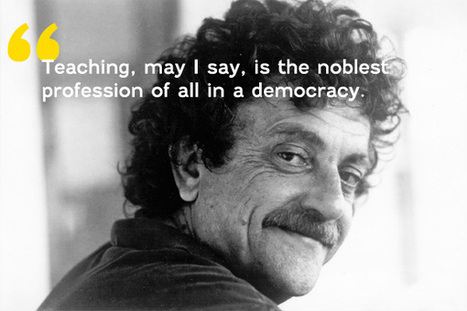 Explore – Kurt Vonnegut's advice to the young on kindness,... | STEM Education News Daily | Scoop.it