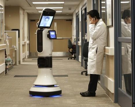 Telemedicine robots let doctors 'beam' into hospitals to evaluate patients, expanding access | Economie entreprises | Scoop.it