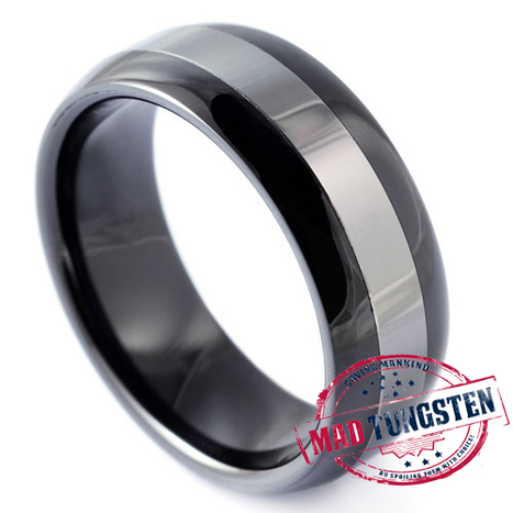 Polished  #tungsten #rings | Tungsten Wedding Rings | Scoop.it