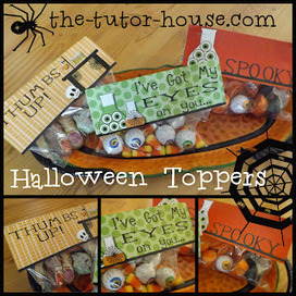 Halloween Treat Toppers | My School | Scoop.it