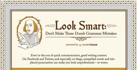 Look Smart: Don't Make these Dumb Writing Mistakes! | The 21st Century | Scoop.it