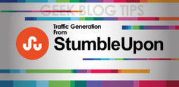 How to Increase StumbleUpon traffic to your Blogs and Websites | Writers Job Apply Free Backlink | Scoop.it