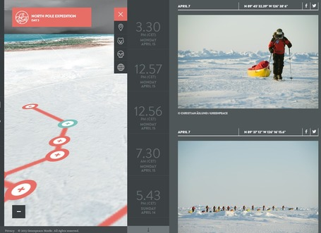 Into the Arctic | Greenpeace | Interactive & Immersive Journalism | Scoop.it