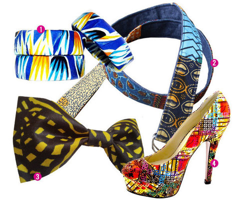 African Pride/African Prints: How To Wear Ankara • Originally Remixed | art contemporain africain | Scoop.it