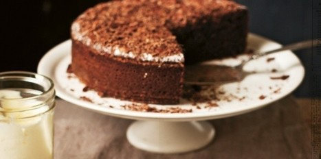 Gâteau au chocolat facile de Katie Quinn Davies | Chocolat | Scoop.it