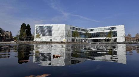 Visite en images de la BMVR, future bibliothèque de Caen | Bibliothèques actuelles | Scoop.it