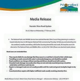 Mt Kaputar National Park hazard... - Narrabri Shire Visitor Information Centre | Facebook | NPWS fire management | Scoop.it