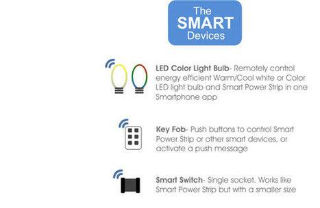 Smart Power Strip, la multiprise connectée | Soho et e-House : Vie numérique familiale | Scoop.it
