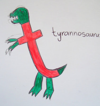 make, do & friend: Dinosaur Letters - T is for Tyrannosaurus | Literacia no Jardim de Infância | Scoop.it