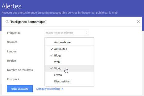 GoogleAlertes: il est possible de choisir plusieurs territoires de veille au sein d'une même alerte | Technologies numériques pour l'enseignement-apprentissage des langues | Scoop.it