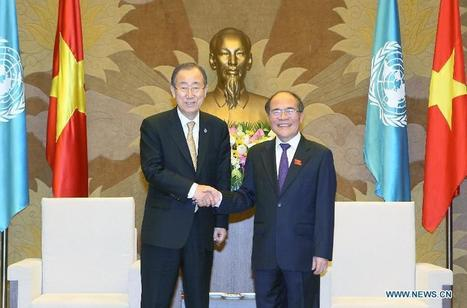 UN chief says to support Vietnam's development - Xinhua   English.news.cn   Business News & Finance   Scoop.it