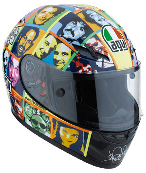 Valentino Rossi Signed Helmet Give Away | proitalia.com | Ductalk Ducati News | Scoop.it