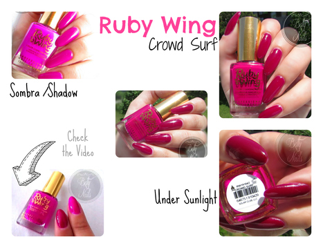 Betty Nails: Ruby Wings Crowd Surf - Photo chromatic Nail Polish | Betty Nails | Scoop.it