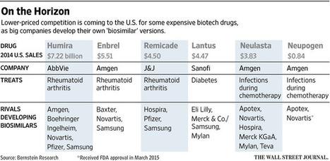 U.S. Clears First Copycat Biotech Drug, Jolting Sector | Drug Safety | Scoop.it