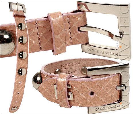 Dolce & Gabbana Python Studded Bracelet (A08)   Online Shopping   Scoop.it