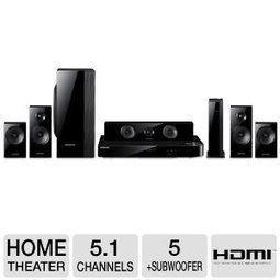 -1-  5.1 Channel Blu-ray Home Theatre System Samsung 5.1 channel 1,000-Watt 5 Speaker Smart 3D Blu-ray & DVD Home Theater System Includes Two Full-Range Wireless Front & Surround Speakers Plus Full... | Black Friday  Home Theater  deals 2013 | Scoop.it
