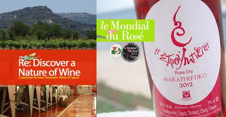 Mondial du Rosé, a natural habitat for Maratheftiko | Evoinos Cyprus ... | Wine Cyprus | Scoop.it