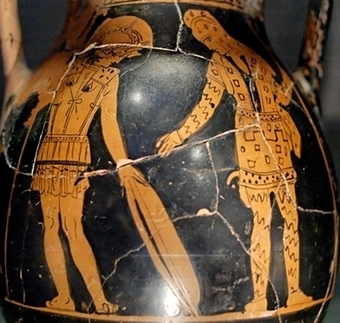 Bestiaria Latina Blog: Myths and Legends: Diomedes and Glaucus   Mitología   Scoop.it