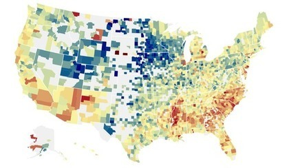 An Atlas of Upward Mobility Shows Paths Out of Poverty | Geography Education | Scoop.it