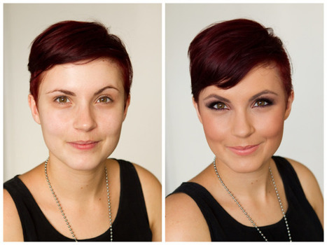 A Before and After Makeup Shoot with NO retouching   Fashion, Beauty & Flowers   Scoop.it