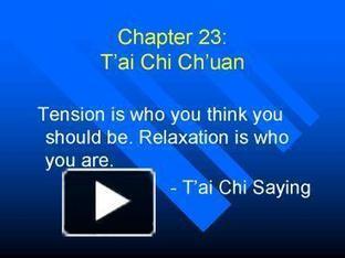 Chapter 23: Tai Chi Chuan | tai chi chuan | Scoop.it