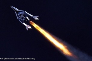 Virgin Galactic's Private Spaceship Offers Enticing Science Opportunities | Way Cool Science! | Scoop.it
