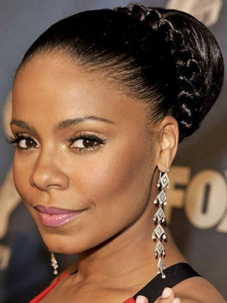 Trendy Updo Hairstyles for Black Women with Braids | Black Hairstyles | Women Hairstyles | Scoop.it