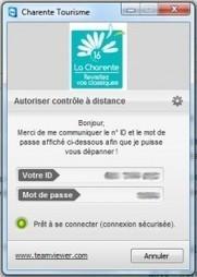 Donne moi ton identifiant et TeamViewer t'aidera « etourisme.info | Etourisme : boite à outils | Scoop.it