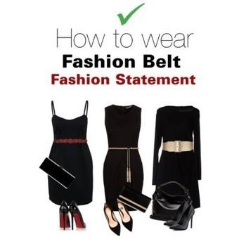 How to wear fashion belt | Fashion Rebel | Scoop.it